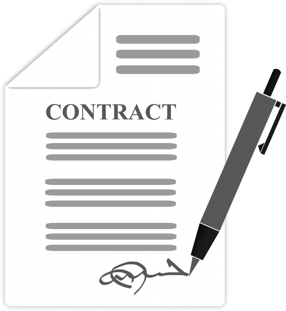 Contract graphic