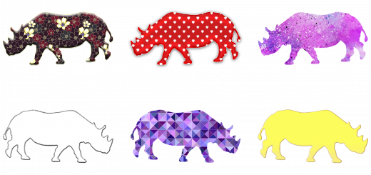 pretty rhinos