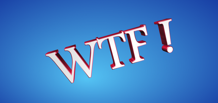 """An illustration that says """"WTF!"""""""